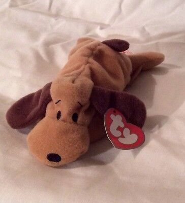 McDonalds TY Teenie Beanie - Bones The Dog Stocking Filler/Party Bag