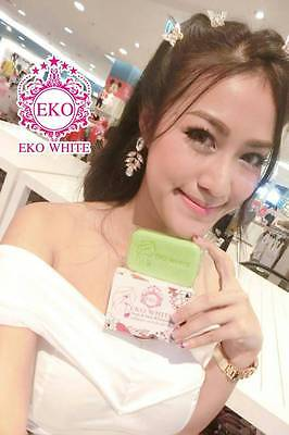 24 Pcs Premium EKO WHITE SOAP Smooth & Clear Skin Whitening Concentrated Nature