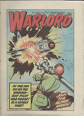Warlord Comic number 349  May 30th 1981