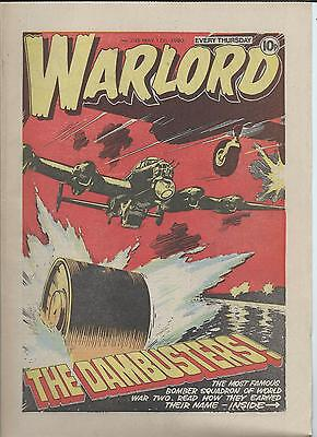 Warlord Comic number 295 May 17th  1980