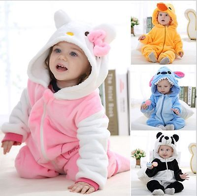 Baby Animal Costume Climbing Pajamas Romper Jumpsuit Coverall Outfits Set