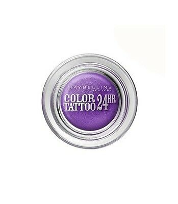 Ombre à Paupières Crème Color Tattoo 24H de Maybelline N°15 Endless Purple