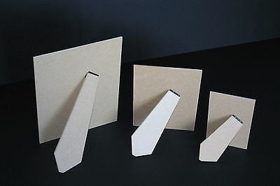 3.2mm MDF STRUT BACKS - PICTURE FRAME STAND PACK OF 25 (ALL SIZES)