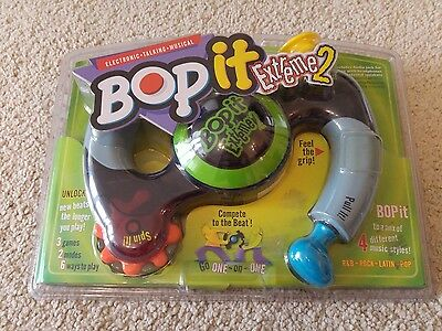 Hasbro Bop It Extreme 2 Electronic Game Rare Brand New & Factory Sealed