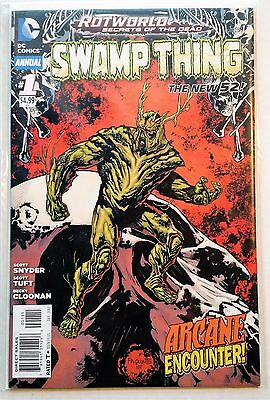 Swamp Thing Annual #1 (2011) NM Snyder Tuft