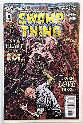 Swamp Thing #6 (2011) NM New 52 Snyder Rudy