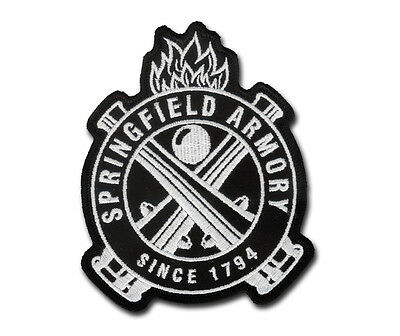 Nice Springfield Armory Embroidered Patch - Model 1911 - M1-Garand - M1903 A3