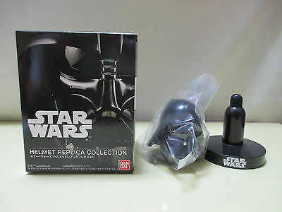 "Bandai Star Wars Mini Helmet Replica Collection 1 Darth Vader for 12"" 1/6"