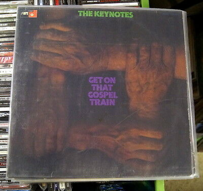 "The Keynotes ""Get On That Gospel Train"" RARE 1973 MPS Gospel LP"