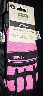 Town & Country Ultimax Multitask Gardening Gloves for Ladies Small / Medium