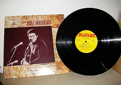 LP Bill Withers - The Sound Of Soul 1989 Blatant Original Uk Press EX