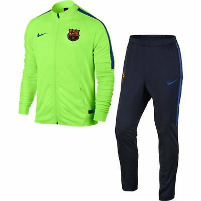 Nike Barcelona Squad Woven Tracksuit 2016/17- Green -Mens
