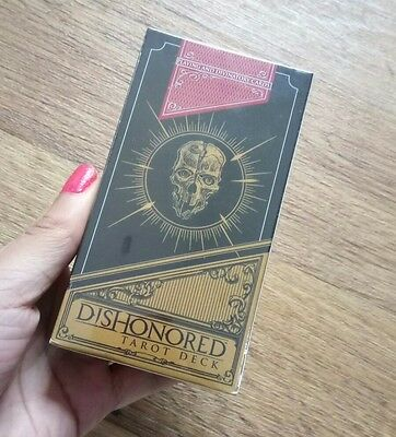 Rare Collectable - Ps3 Dishonored Tarot Deck - New And Sealed