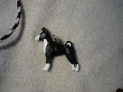 Basenji Dog Necklace