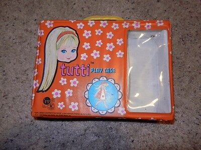 1965 Vintage Original Tutti Play Case Orange