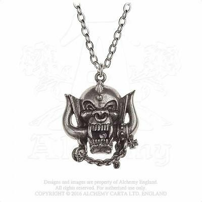 Alchemy Rocks - Motorhead - Warpig Pewter Pendant Metal Lemmy