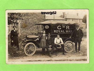 Royal Mail Van Sawtry ( First card only) Peterborough unused RP pc Ref A535