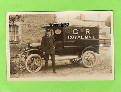 Royal Mail Van Sawtry (B) ( First card only) Peterborough unused RP pc Ref A536