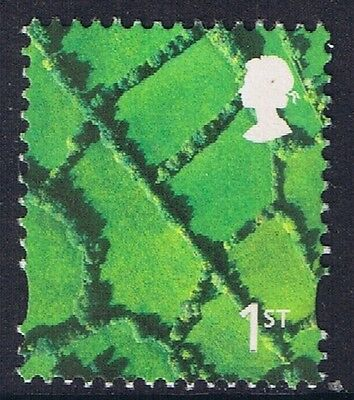 GB QEII MNH Northern Ireland SG NI90 1st Patchwork Fields. Regional Definitive
