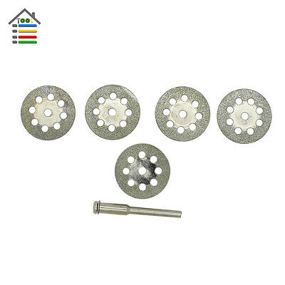 5PC 22mm Diamond Mini Circular Saw Blades Wood Cutting Disc Dremel Accessories