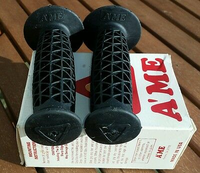 Ame waffle grips  old school bmx