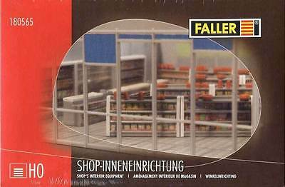 Faller H0 1:87  Arredamento Interno Per Negozi  Shop's Equipment  Art 180565