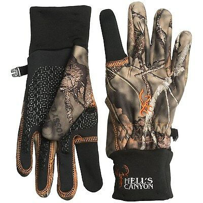 One Size Browning Hell's Canyon Gloves (For Men) Large