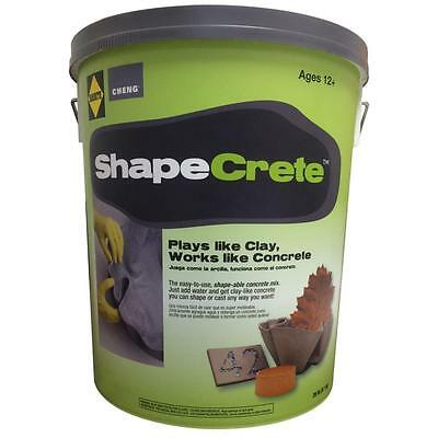 20 lb. Shapeable Moldable Concrete, Plays like Clay, Works like Concrete