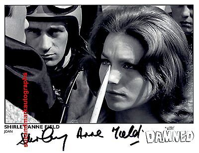 Shirley Anne Field Joan The Damned   Hammer Horror Autograph UACC RD96