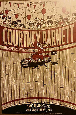 COURTNEY BARNETT Fillmore Poster 15 a