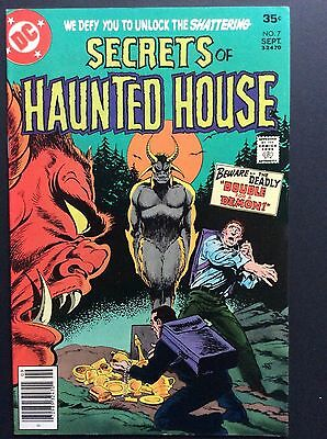 SECRETS of HAUNTED HOUSE #7 VF/NM!!!!