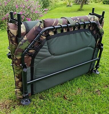 Cyprinus Carp Tackle Fishing Bedchairs Camo All Sizes Stocked Free Delivery New