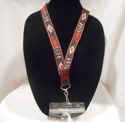Disney Cruise Line Castaway Club Lanyard with Badge Holder