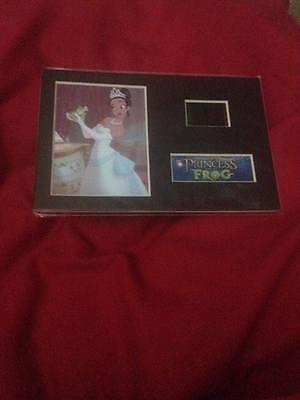Disney Princess and the frog 6x4 film cell display