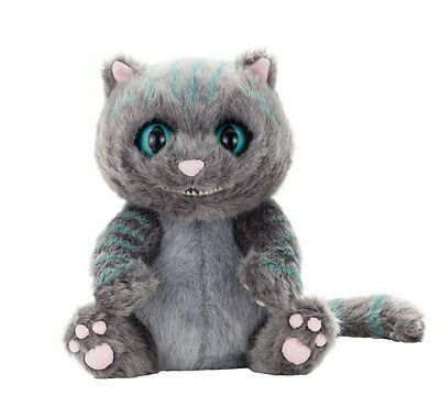 Alice in Wonderland Through the Looking Glass Cheshire Cat Plush Doll #WithTrack