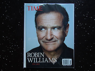 ROBIN WILLIAMS  1951-2014  2014 TIME Magazine  BRAND NEW
