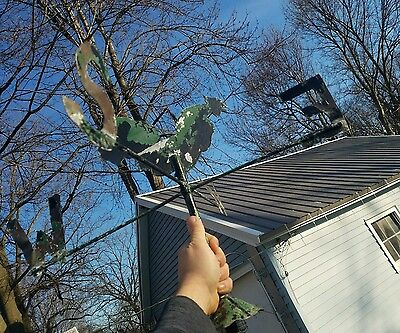 Antique Vintage very old looking weather vane .Likely Hand Made. All 1 Piece
