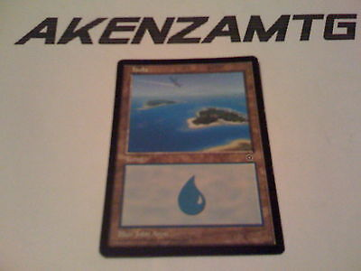 AkEnZaMtG - 1x Isola - Island Portal Second Age Magic Mtg Italiano  x1