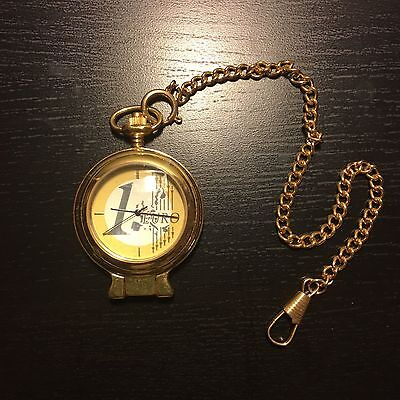 Beautiful Royal Swiss Mint Pocket Watch Marked 1 EURO  With Chain and Box