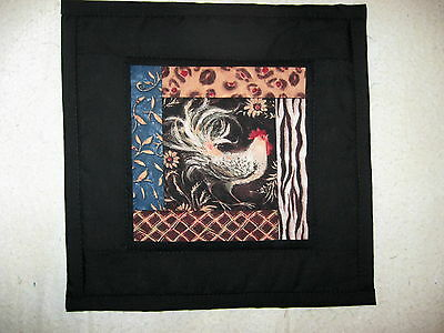 Rooster  Quilted Wall Hanging