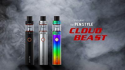 Authentic Smok Stick V8 Kit With TFV8 Big Baby Tank - Pen Style Cloud Beast