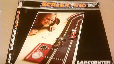 Scalextric  C277 Lapcounter With Box