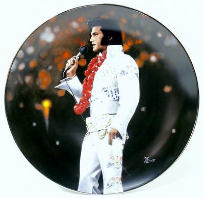 Elvis Collector Plate By Delphi Aloha From Hawaii