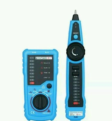 Cable Tester For Telephone Wire Tracker Tracer Toner Ethernet LAN Network Ect