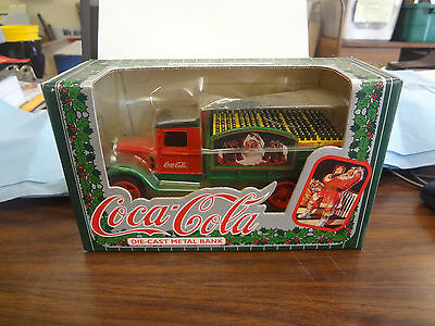 Coca-Cola Die Cast Delivery Truck Bank   J-562