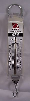 Ohaus Pull Type Spring Scale 8008-MN 5000g/50n Capacity 100g/1n Readability