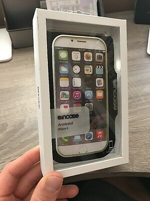 New! Incase Sports Active Black Armband Sleeve Pocket iPhone 6, 6S, 7 -  CL69430