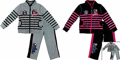 Girls Official Tracksuit 4-12 Years Monster High