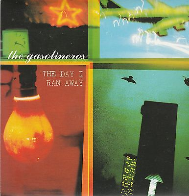 """The Gasolineros-The day I ran away/Monster in my lungs 7"""" Single 2003"""