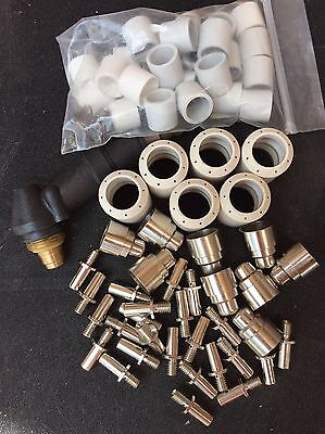 45+ PCS Various BINZEL® Style PLASMA Parts & New Torch Body - FREE AU POST